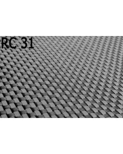 Osłona Balkonowa Mata Technorattanowa kolor stalowy jasny z ciemnym RC31